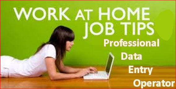 Online Data Entry Jobs-How to Become a Professional Data Entry Operator