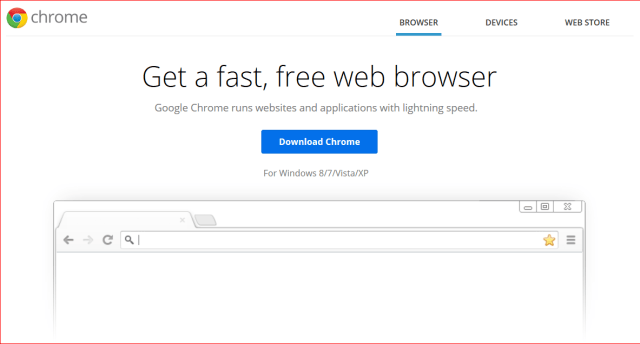 Chrome-Fast Web Browser