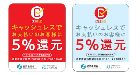 ステッカー【5%の場合】