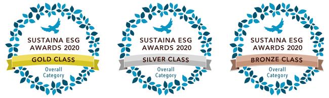 サステナ、第3回「SUSTAINA ESG AWARDS 2020」の受賞企業を発表--ESG経営先進企業を表彰