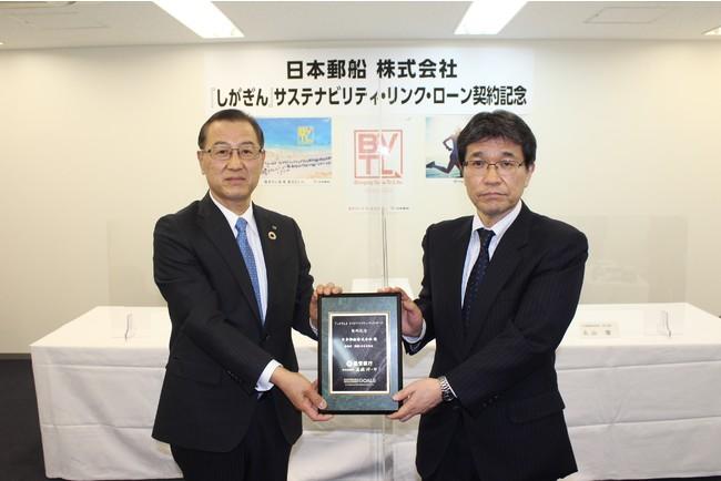 日本郵船株式会社に外貨建てサステナビリティ・リンク・ローンを実行