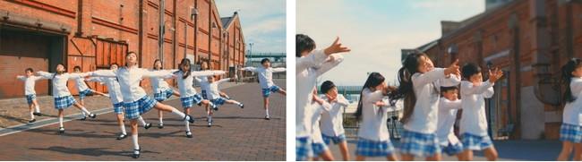 子供たちが元気に歌い踊る「Dancin Daishin」シーン(3)