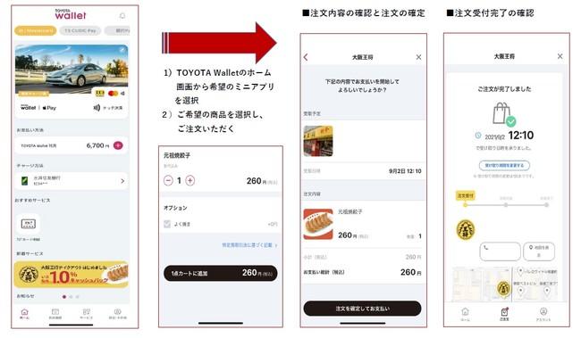 トヨタ決済アプリ「TOYOTA Wallet」における