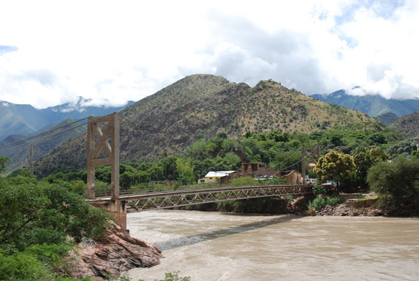 The bridge at Balsas, near a proposed dam site. Photo credit: David Hill.