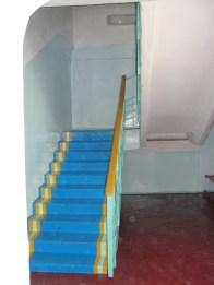 Stairs in school