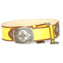 Silver-Belt-with-Yellow-Color-for-Deel