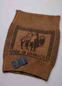 Brown Camel Woolen Belt