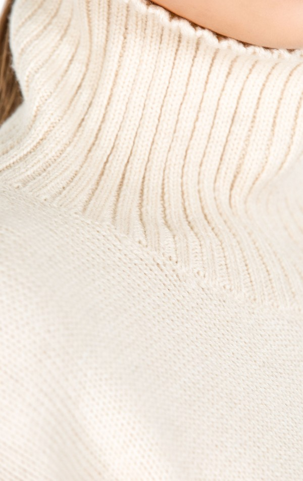 Sheep Wool Turtle Neck