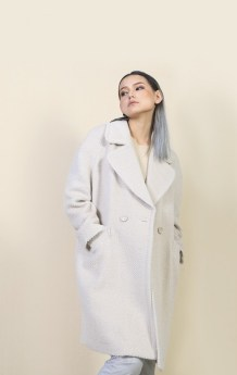 White Women Coat