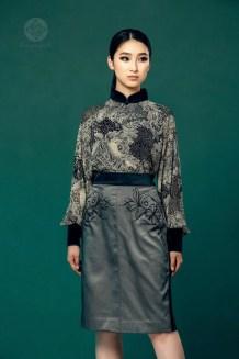 Mongolian Gray Women's Dress