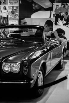 His fancy car