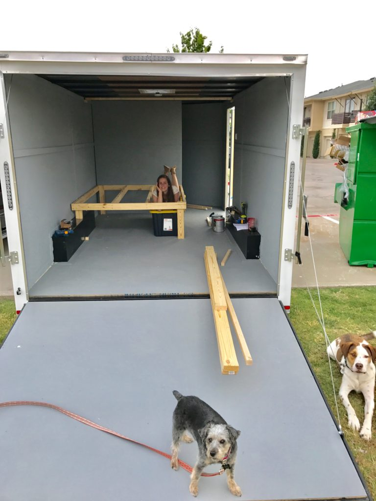 Enclosed Cargo Trailer RV Conversion