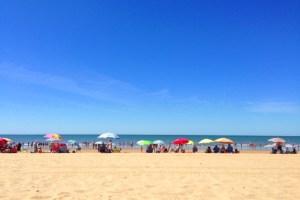 ウエルバのプンタ・ウンブリアのビーチ