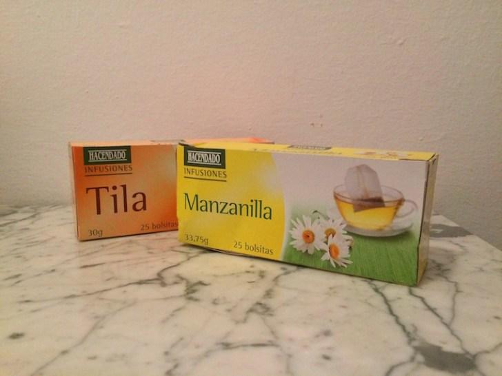 メルカドーナのお茶パック