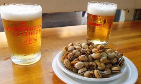 スペインのカタツムリ(カラコレス)は初体験が肝心!