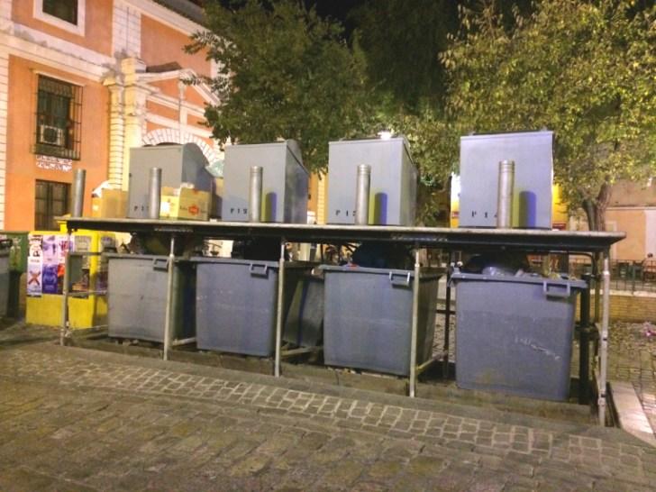 スペインのゴミ収集