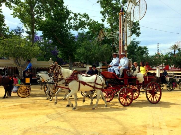 ヘレスのフェリア2017の馬車