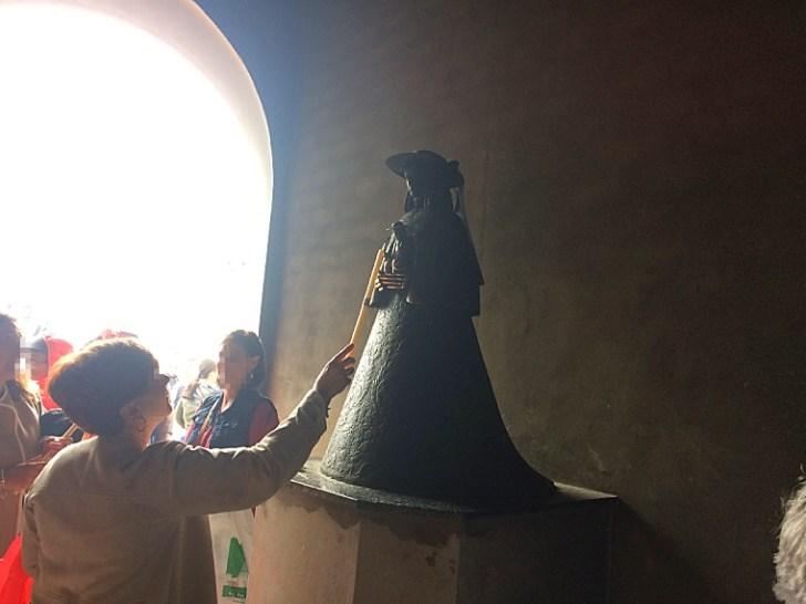 ロシオの巡礼祭のマリア像