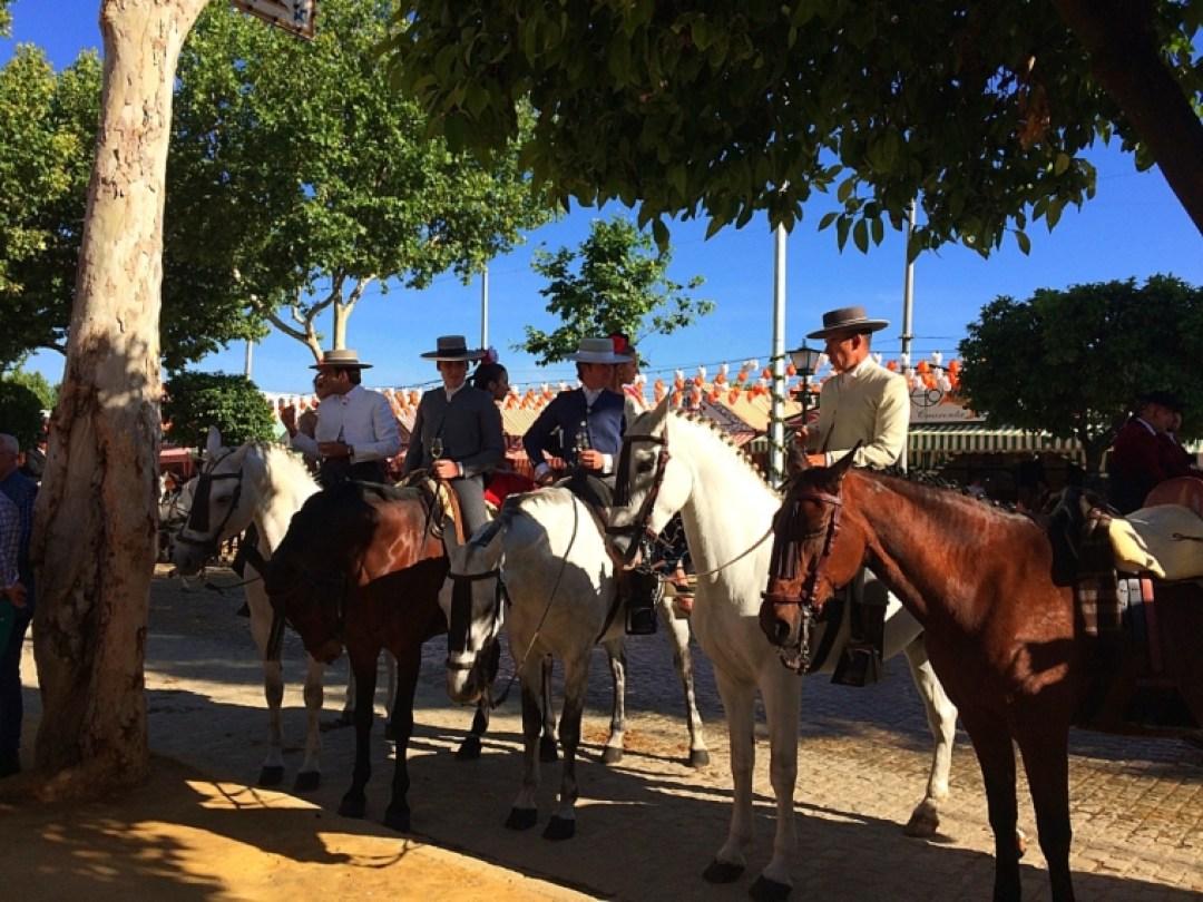 セビーリャのフェリア2017の馬