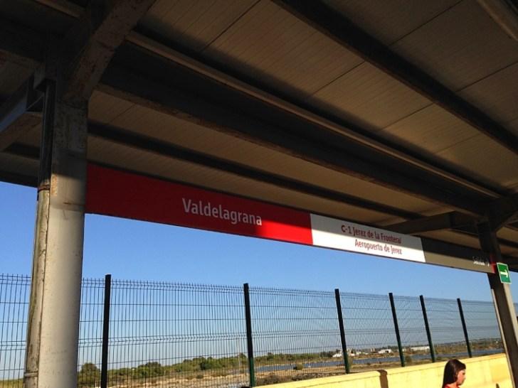 バルデラグラナの鉄道駅