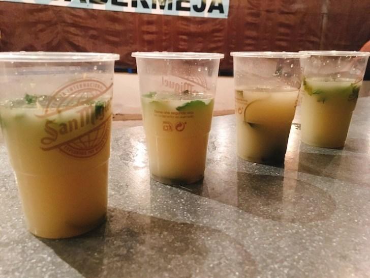 カサベルメハのフラメンコフェスティバルで飲めるプチェーロ出汁