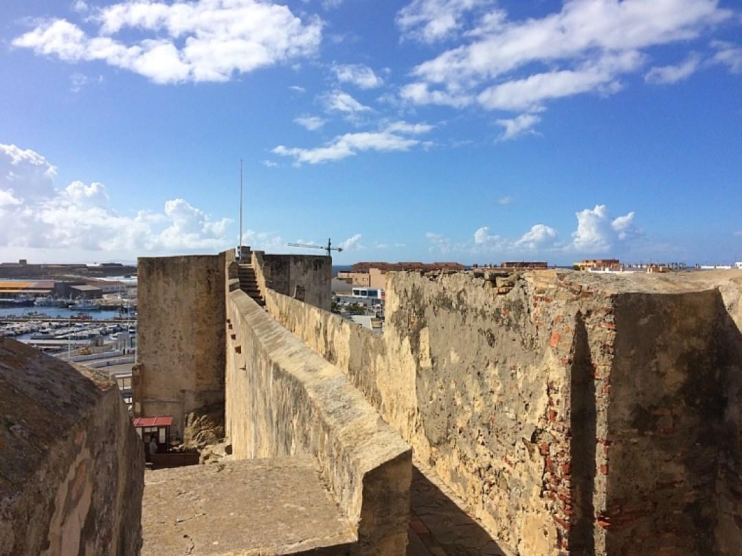 タリファのグスマン城の見張り台