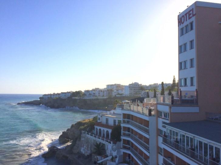スペインのアンダルシア地方ネルハのホテル「バルコン・デ・ヨーロッパ」