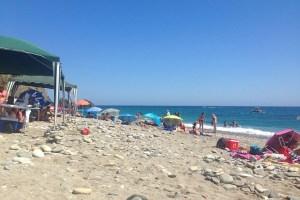 アルベルキージャのビーチ