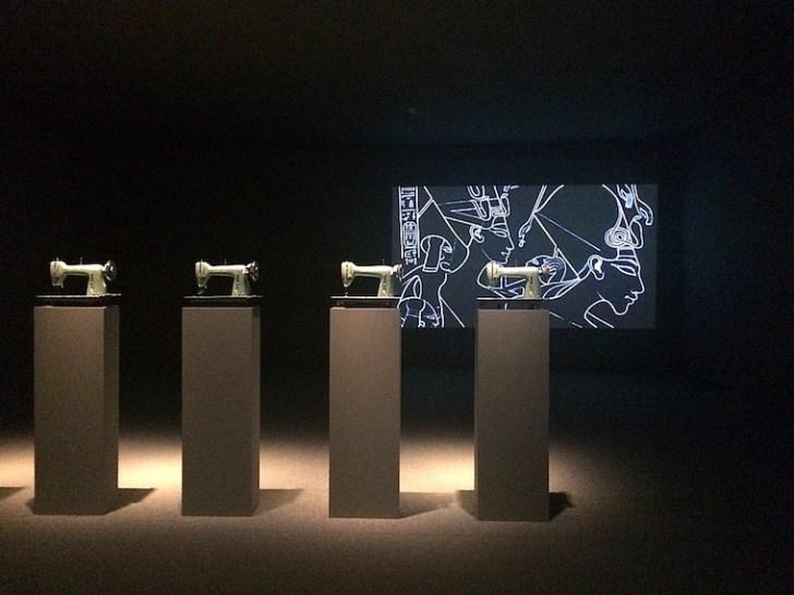 アンダルシア現代美術館の展示