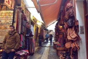 グラナダのアラブ人街
