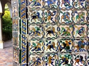 セビリアのアルカサルのタイル