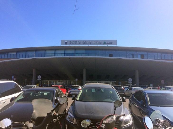 セビリアのサンタフスタ鉄道駅