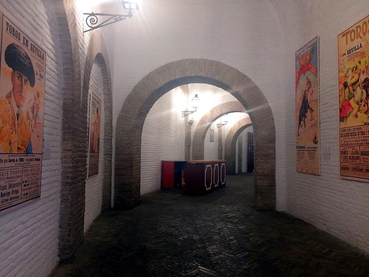 セビリアのマエストランサ闘牛場の博物館
