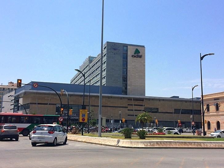 マラガの鉄道駅