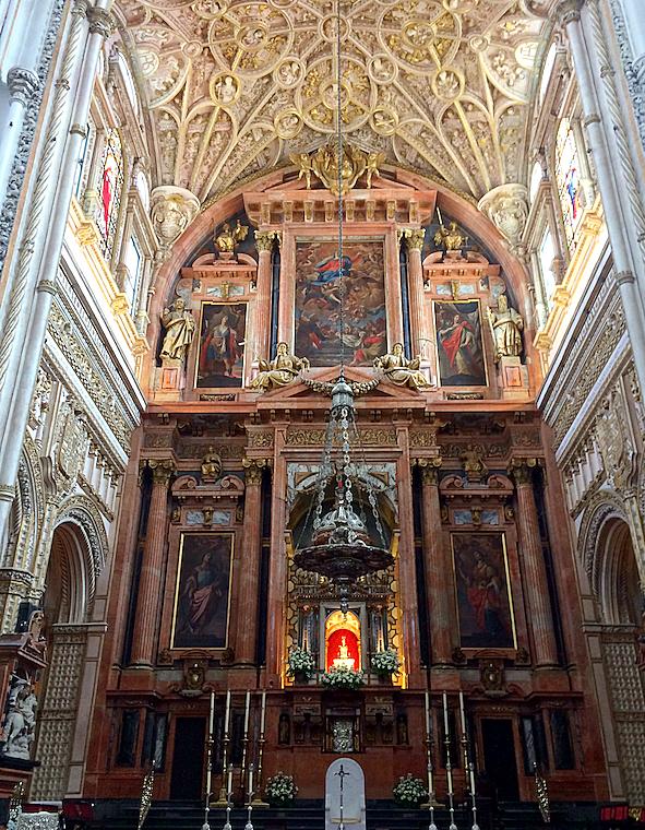 コルドバのメスキータの大聖堂