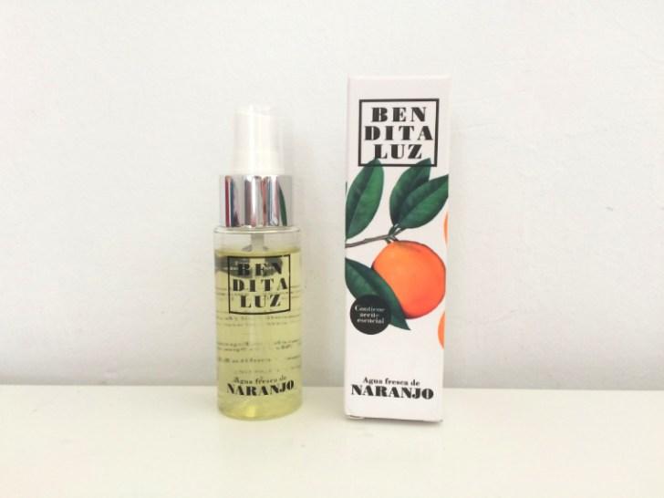 オリーブオイルとオレンジの香水
