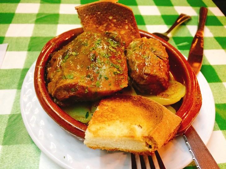 トリアナのバル『La Antigua Abacería』の豚ほほ肉の煮込み