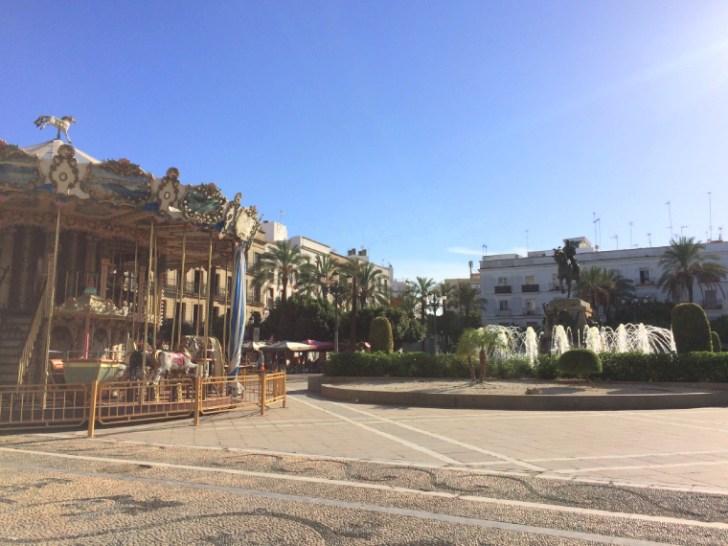 ヘレスのアレナル広場