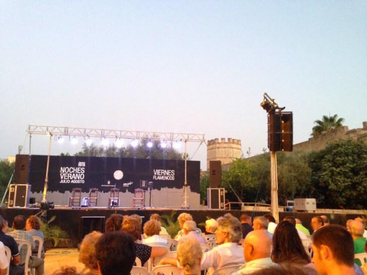 アルカサルで開催されるヘレスのビエルネスフラメンコ