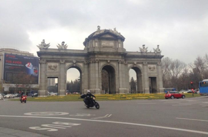 マドリードのアルカラ門