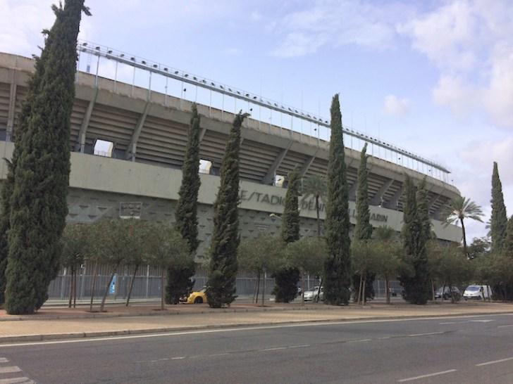 レアル・ベティスのベニートビジャマリンスタジアム