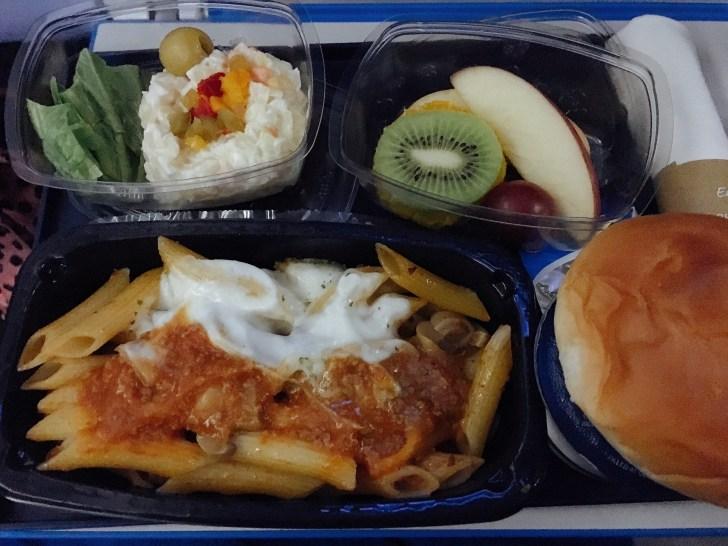 KLMの機内食