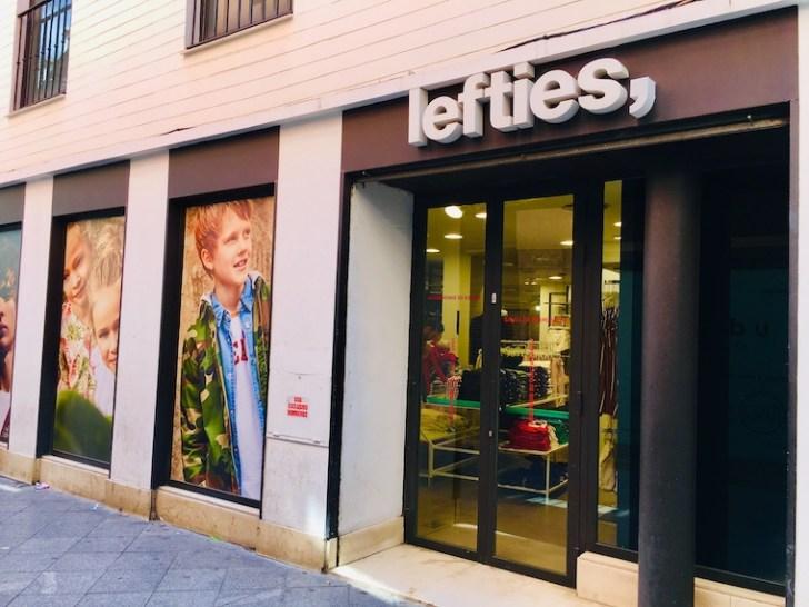 スペインのファストファッションブランド「Lefties」