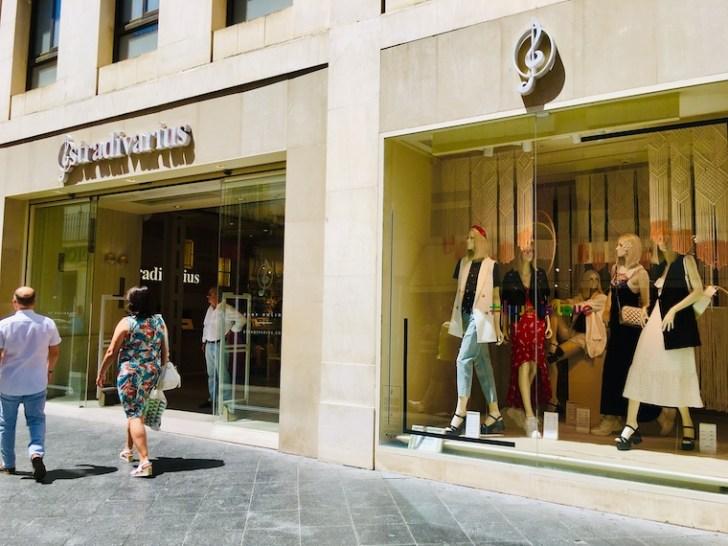 スペインのファストファッションブランド「stradivairus」