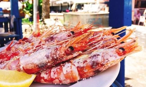 野宿からのマラガの素敵ビーチ!『リンコン・デ・ラ・ビクトリア』でイワシと海老の串焼き
