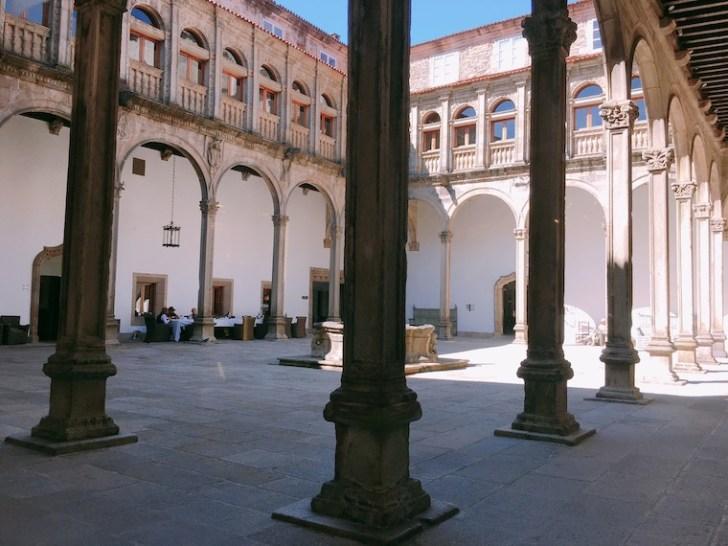 サンティアゴデコンポステーラのパラドール