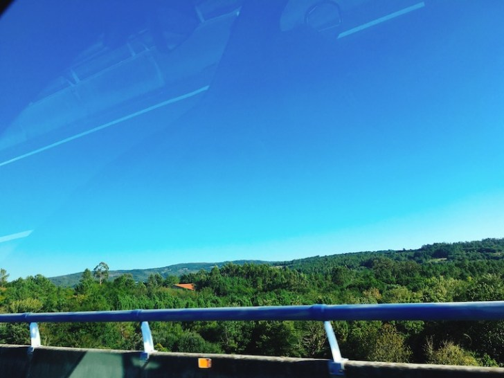 緑が多いスペイン北部