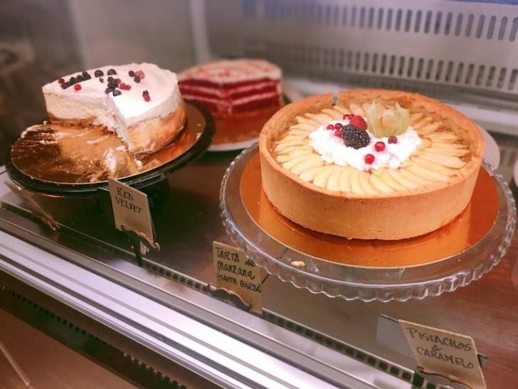 セビリアのケーキがおいしいカフェ「Mr.Cake」のケーキ