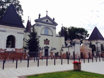 Węgrów, kościół