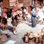 """Erik Schmidt, """"Marrakechi turg"""", 1989"""